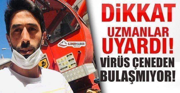 MASKE KULLANIMINA DİKKAT!